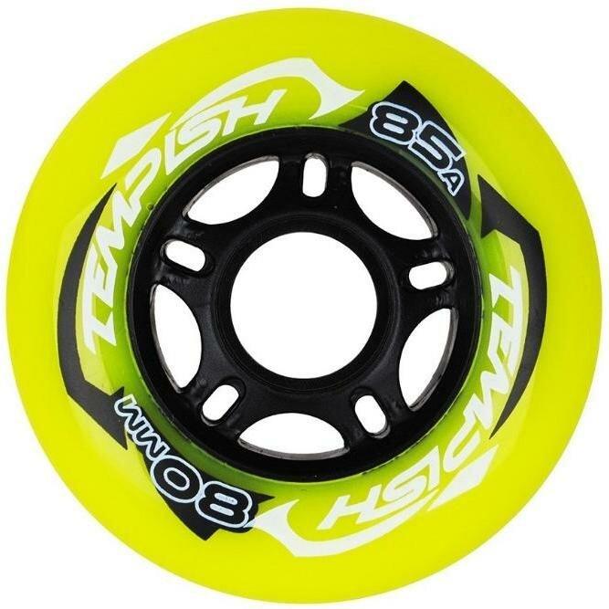 Комплект Колес Tempish Radical Color 80X24 85A, 4 Шт. Green (Б/Р)