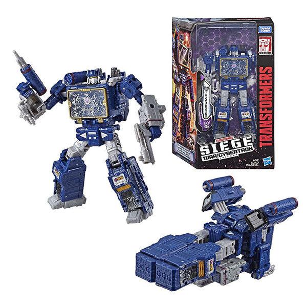 Игрушечные роботы и трансформеры Hasbro Transformers E3418/E3545 Трансформеры класс вояджеры Саундвейв