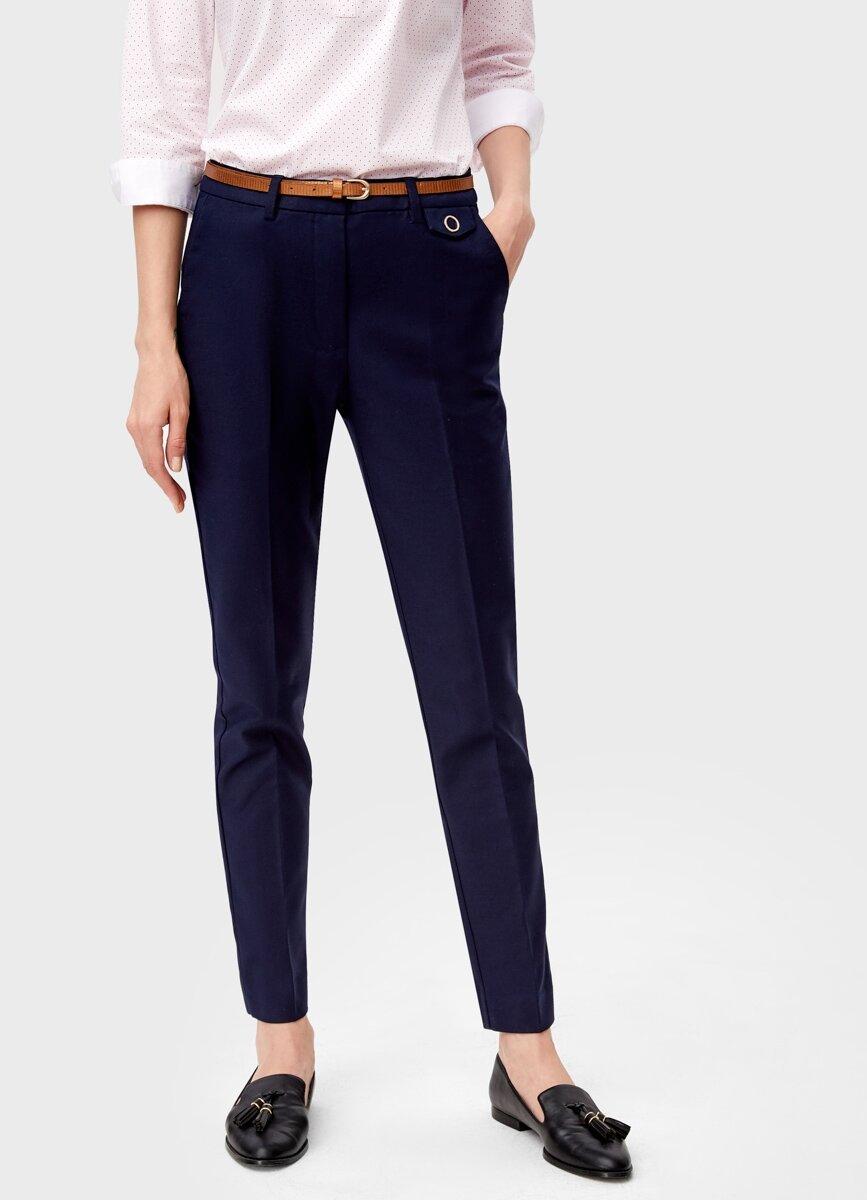 OSTIN Хлопковые брюки с ремнём