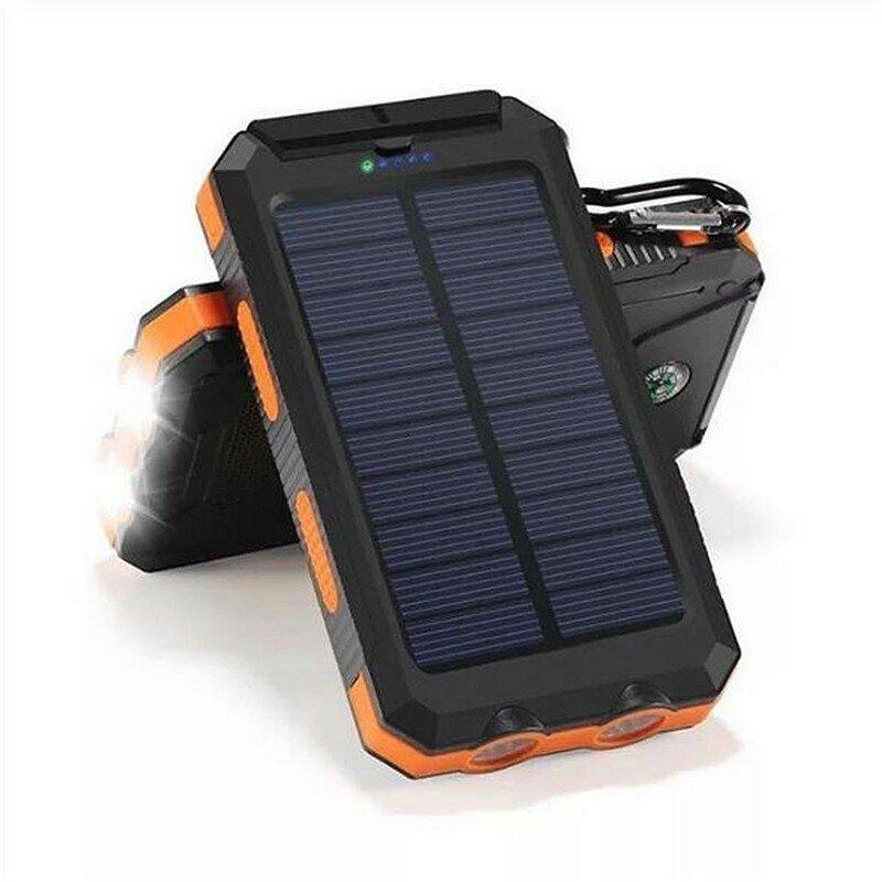 Solar Power Bank 20000 mAh - аккумулятор на солнечной батарее