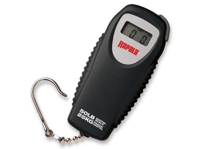 Весы рыбака электронные RAPALA RMDS-50 (25 кг), компактные