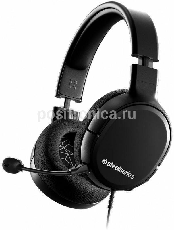 Наушники с микрофоном Steelseries Arctis 1 черный (61427)