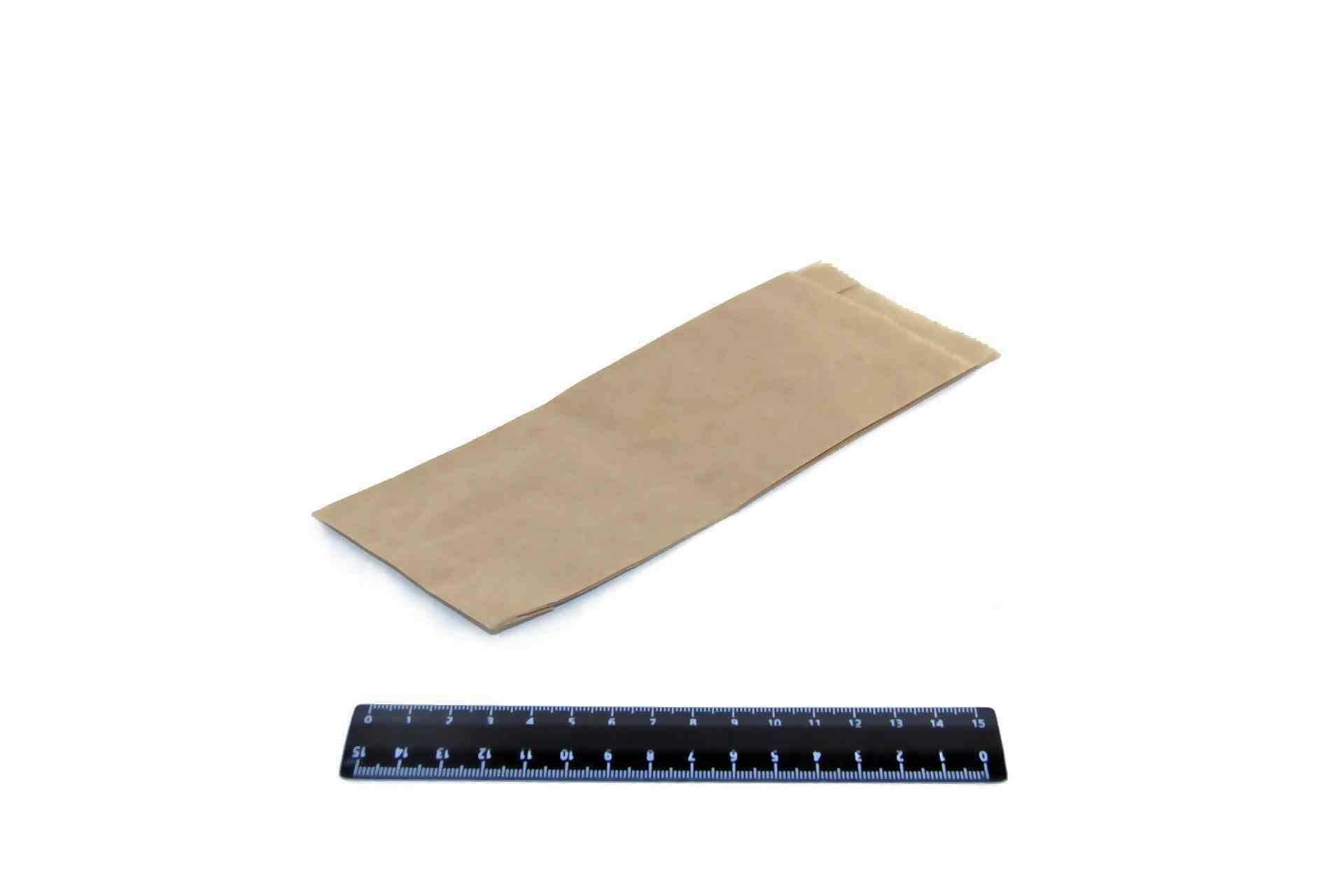 Пакет бумажный Крафт 210*80*35мм (100шт).3830/2К0