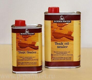 Масляное покрытие Teak oil sealer Borma Wachs 5л