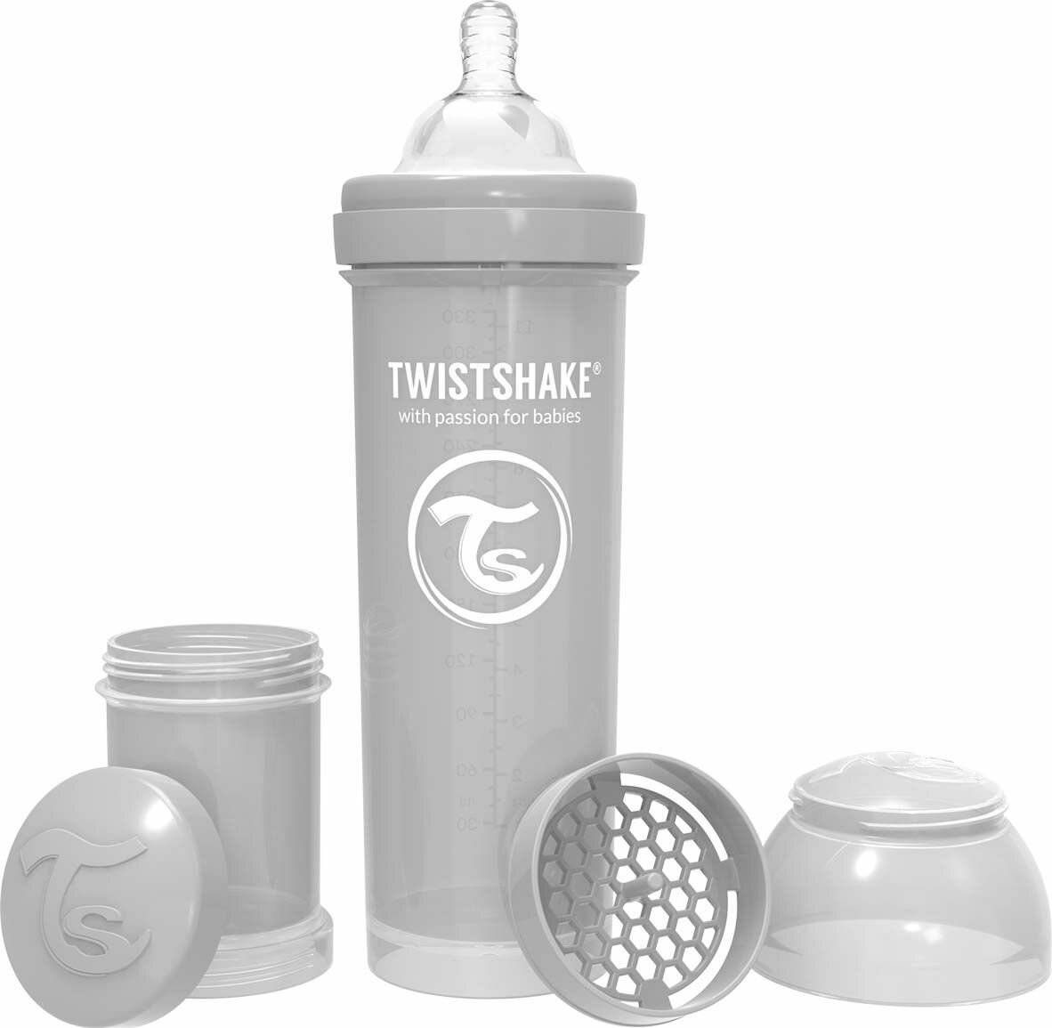 Twistshake Бутылочка антиколиковая 330 мл с 4 мес.