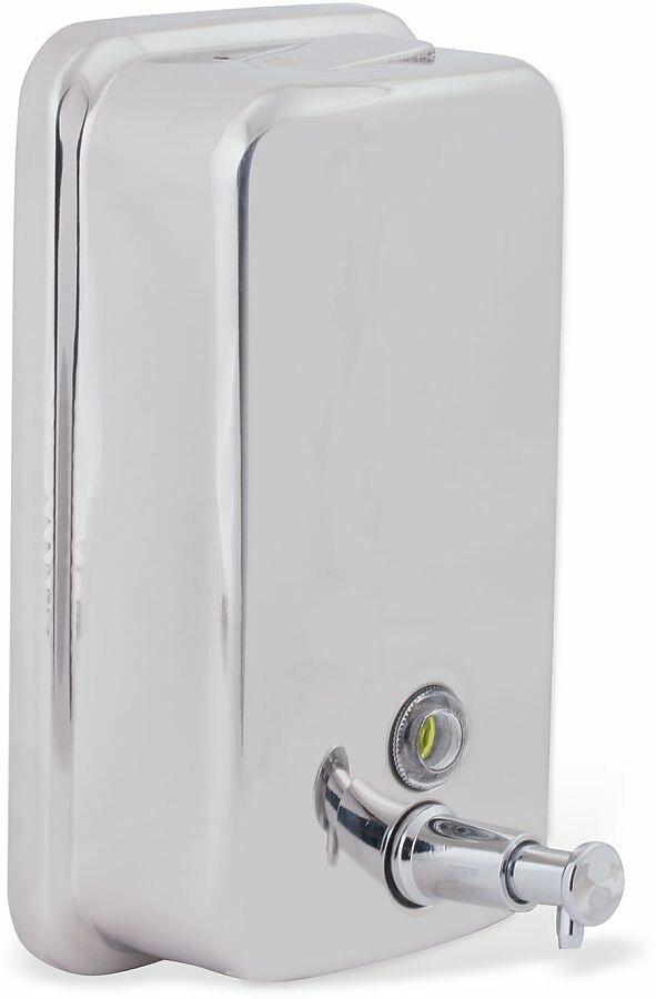 Дозатор для жидкого мыла BXG SD-H1-1000 нержавеющая сталь, 1 л