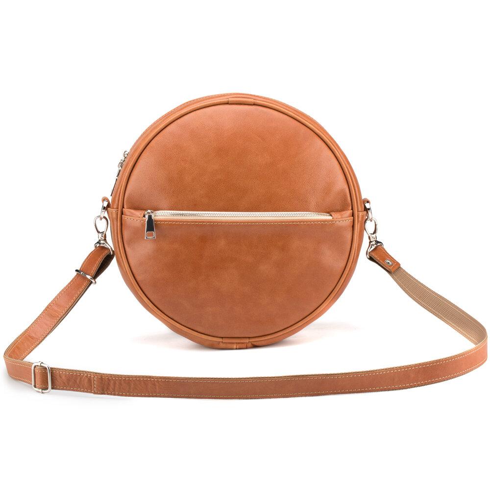 Женская кожаная сумка-рюкзак
