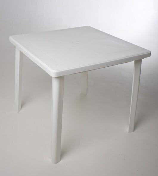 "Стол Стандарт Пластик Групп ""Стандарт Пластик Групп"" квадратный 800х800 (Белый, Пластмасса)"