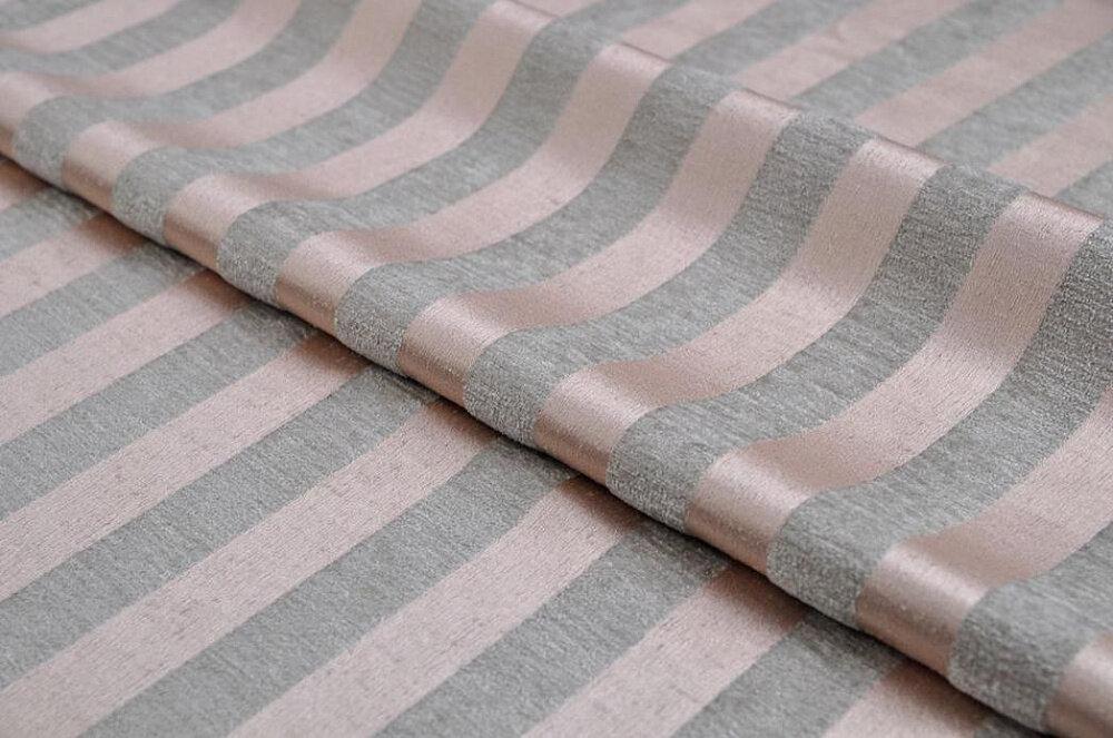 Ткань MOIRE stripe pink