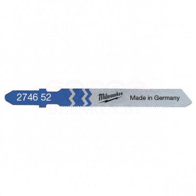 Пилка для лобзика (по металлу) MILWAUKEE T118G 55х0,7 мм (5 шт.) 4932274652