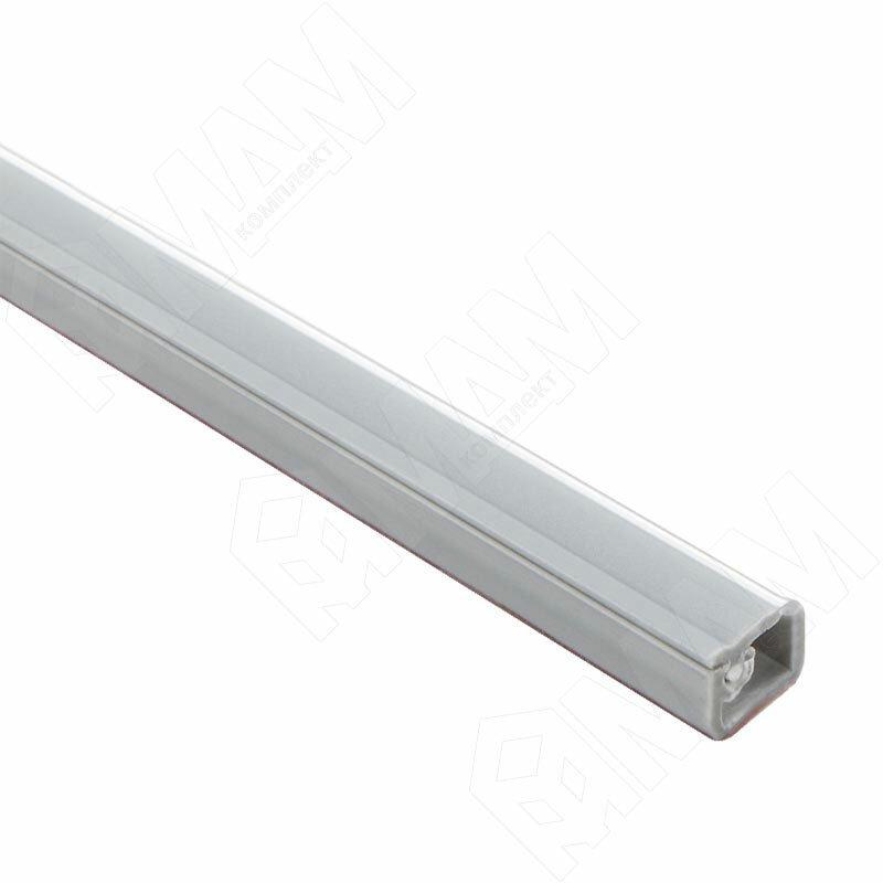 Кабель-канал с самоклеящейся лентой, 10х7,5 мм, серебро, L-2000 (C217.416)