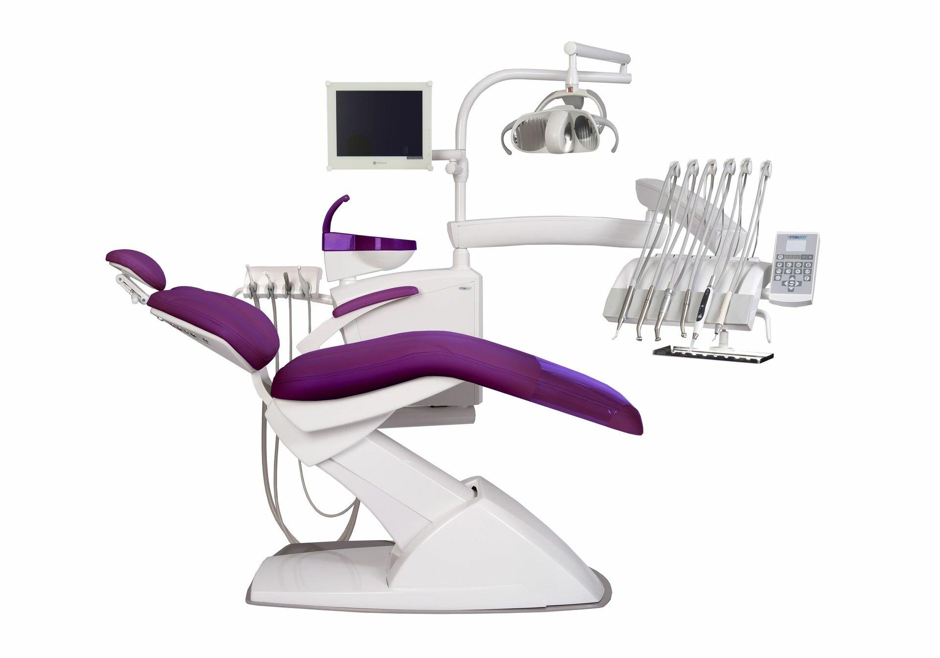 STOMADENT IMPULS NEO2 - стоматологическая установка с верхней подачей инструментов