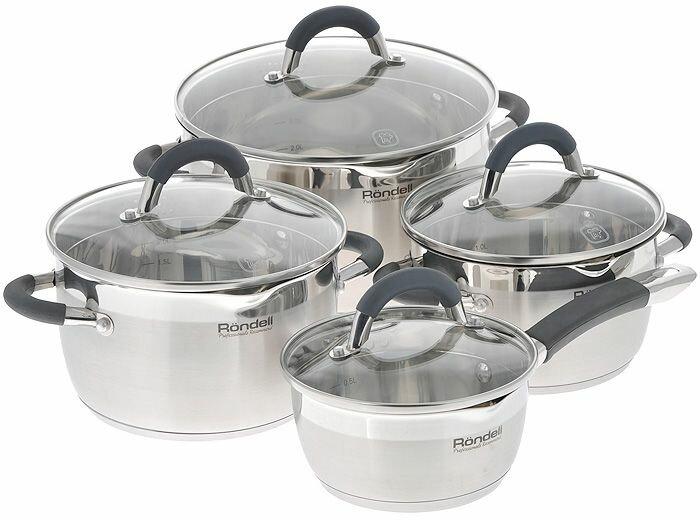 Набор посуды для приготовления Rondell Flamme (Rondell)