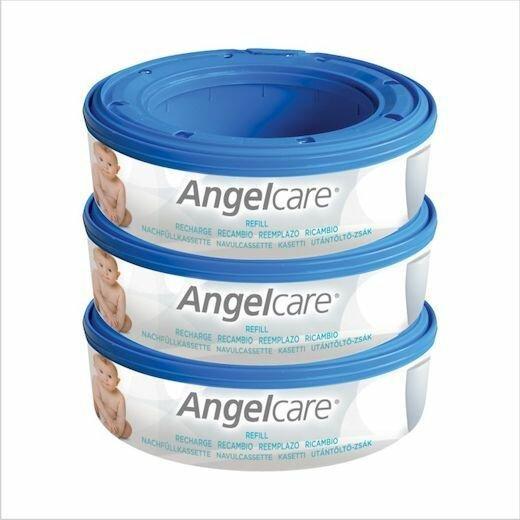 Кассеты к накопителю подгузников Angelcare AR9003-EU, 3 шт