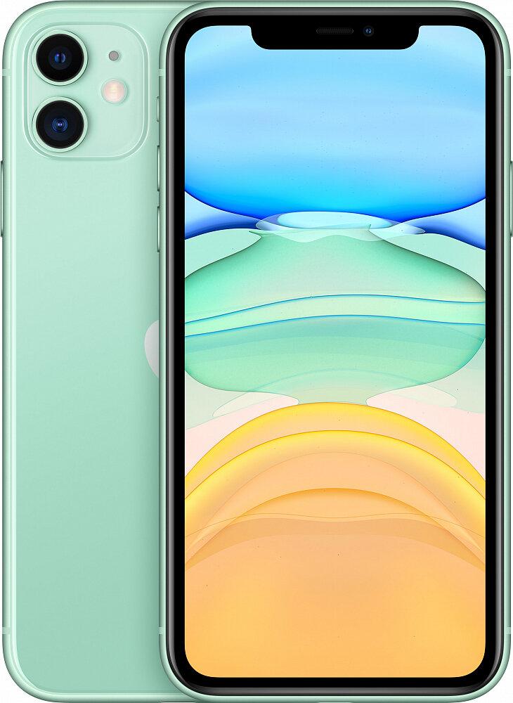 Смартфон Apple iPhone 11 128 ГБ зеленый