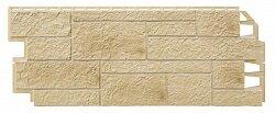 Фасадная панель (цокольный сайдинг) Vox Solid Sandstone Cream
