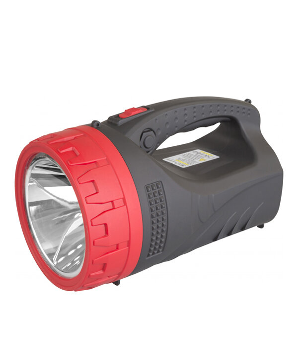 Фонарь-прожектор аккумуляторный светодиодный 5 Вт + плафон 25LED