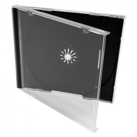 BOX 1 CD Jewel Case, черный, полновесный трей