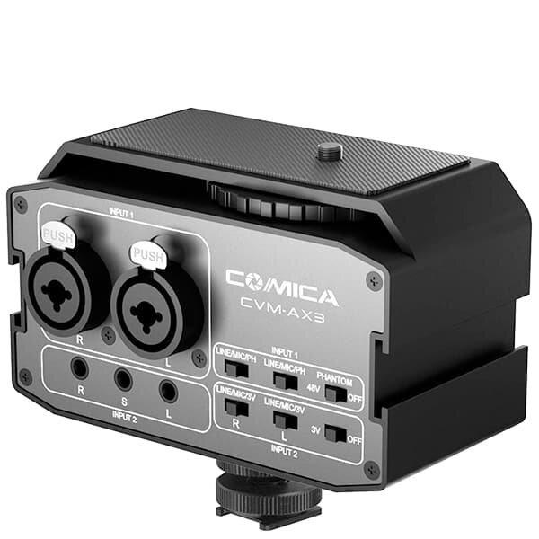 Микшер двуканальный Comica CVM-AX3 XLR