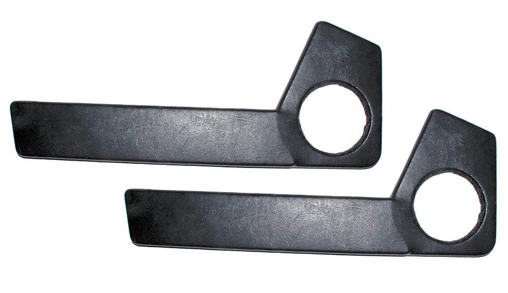 Подиум акустический в двери черный винил ВАЗ 2108-15