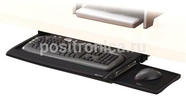 Подставка Fellowes Office Suites черный (FS-80312)