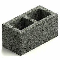 Керамзитобетон блок 390х188х190мм полнотелый фбс песчано бетонная смесь м400