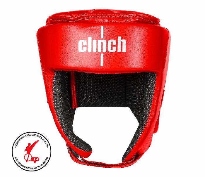 Шлем для единоборств Clinch Helmet Kick красный (размер XL)