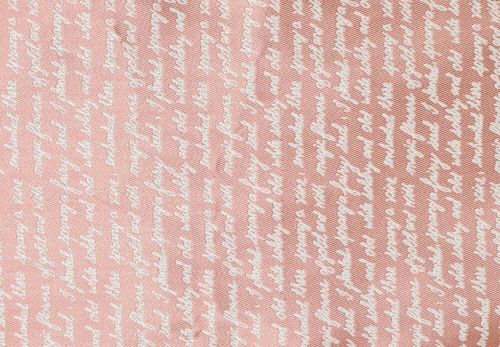 Ткань STORY shrift pink
