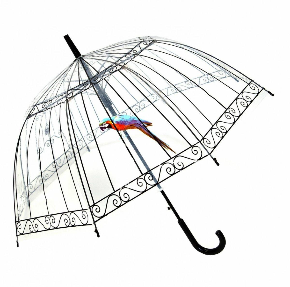 Зонт-трость Пташка в клетке, Bradex (SU 0010)