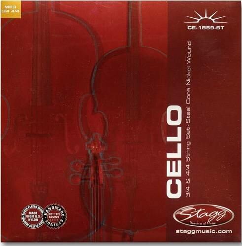 Струны для виолончели stagg ce-1859-st