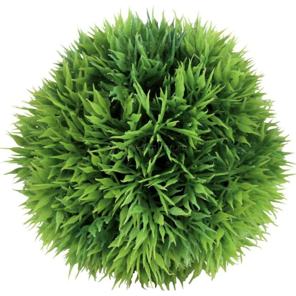 Растение для аквариума Trixie Moss Ball S, размер 9см.