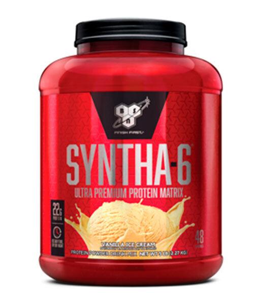 BSN Syntha-6, 2275 г, вкус: ваниль