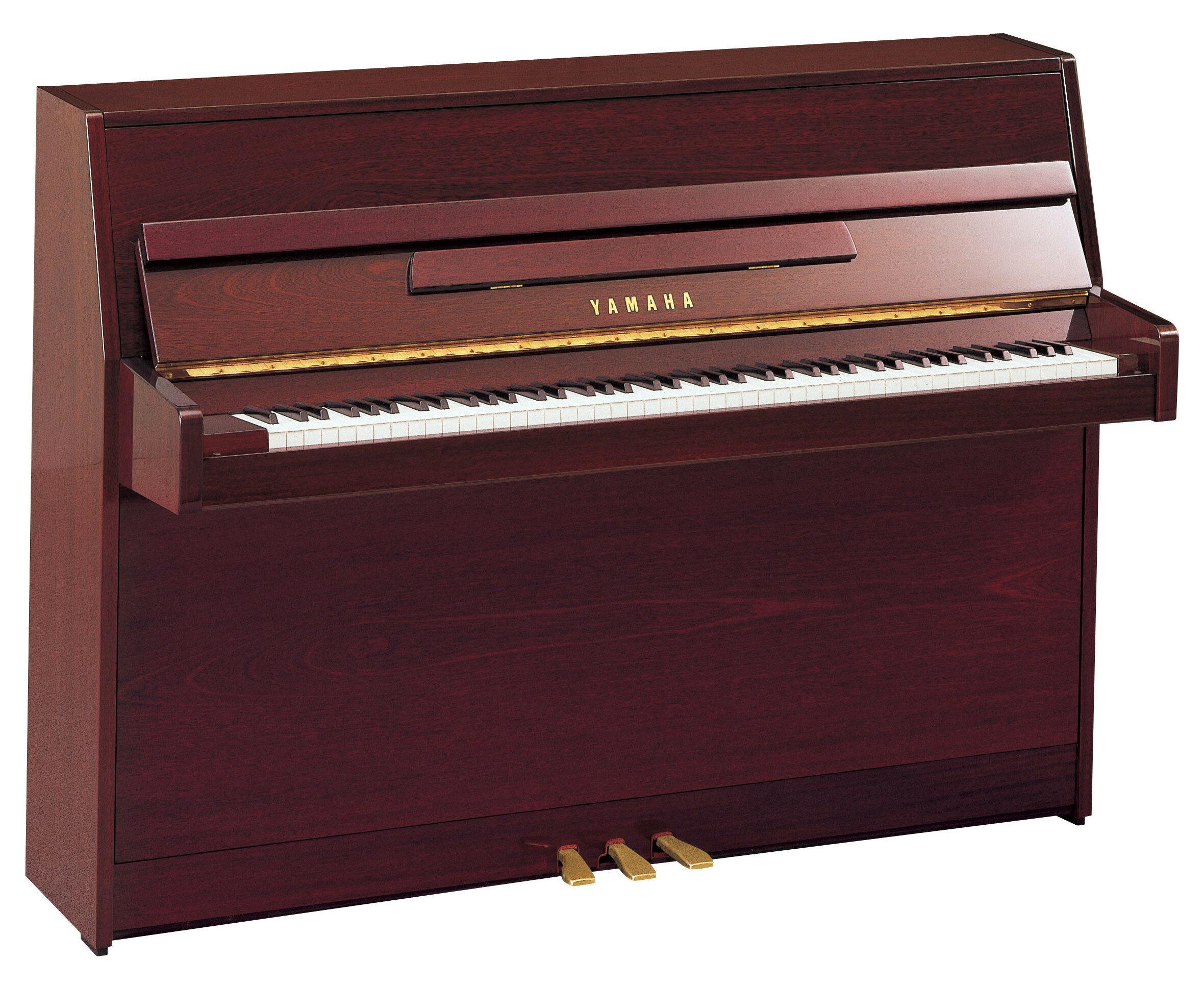 YAMAHA JU109 PM, цвет красное дерево полированное (Акустические пианино)