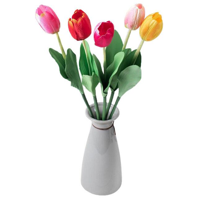 растение искусственное Тюльпан микс в асс-те 60см
