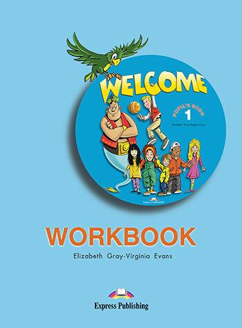 "Elizabeth Gray Virginia Evans ""Welcome 1 Workbook"""