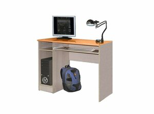 Компьютерный стол Олимп-мебель Лего-4 Эвкалипт металлик