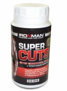 Супер Сжигатель жира - Super Cuts IRONMAN (300 капс.) без вкусов