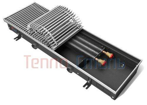 Внутрипольный конвектор Techno Air KVVZ 350-120-2100 с подачей воздуха от приточной вентиляции