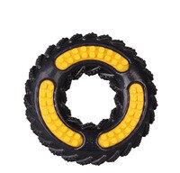DEZZIE Игрушка для Собак Дутое Колесо на Шнурке Резина 12см (5638100)