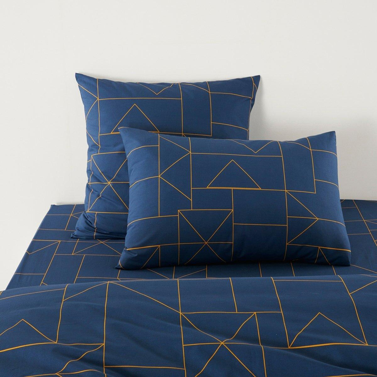 Наволочка La Redoute DWIGHT 50 x 70 см синий