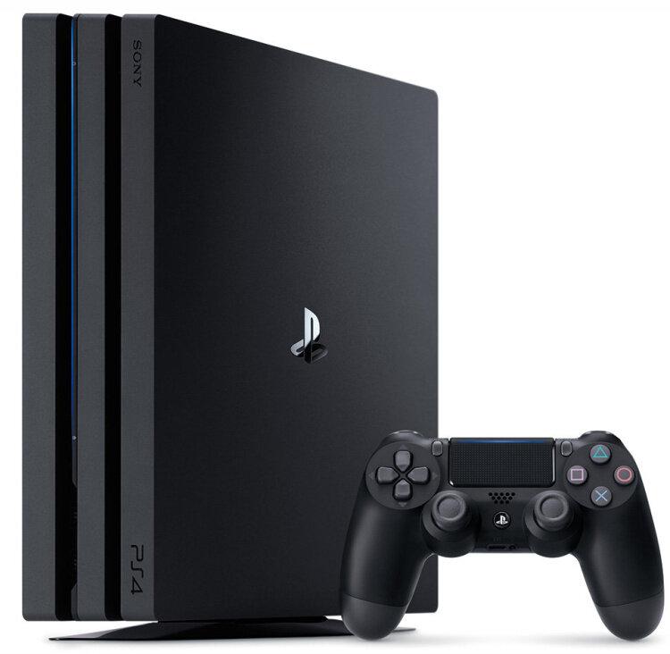 Игровая приставка Sony PlayStation 4 Pro черная