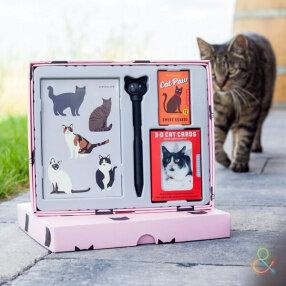 Kikkerland Подарочный набор для любителей котов
