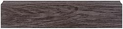 Плинтус напольный пластиковый (ПВХ) Декор Пласт 67 LL022 Трюфель