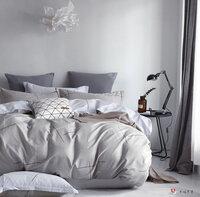 f70746ed9824 Постельное белье из сатина PS-054 Elin (серый), 1,5 спальный