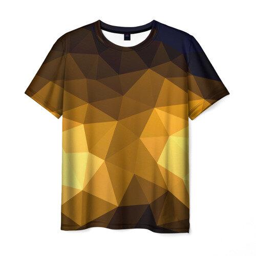 Мужская футболка 3D Абстракция XXL