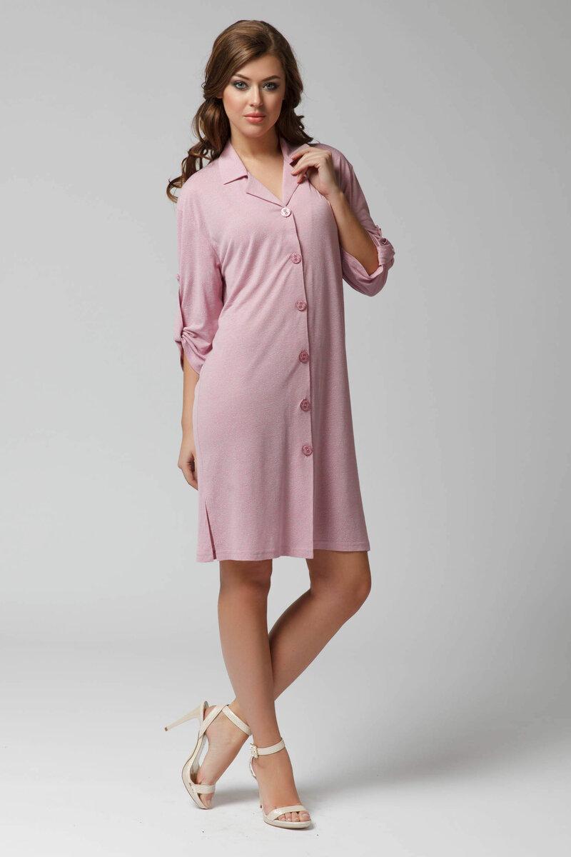 Платье халат прямой фото