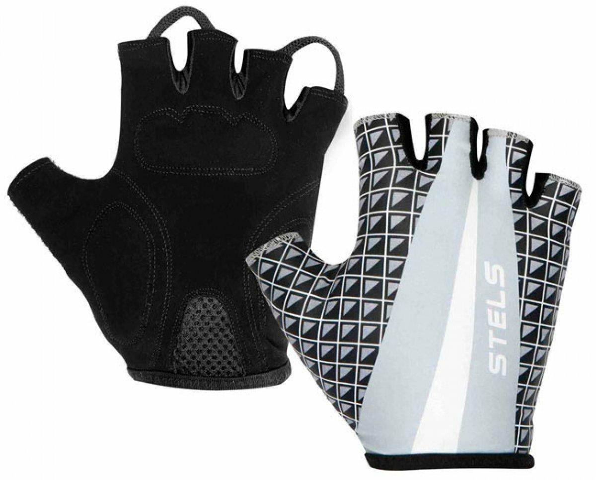 Велосипедные перчатки STELS CG-1142(черный/M)