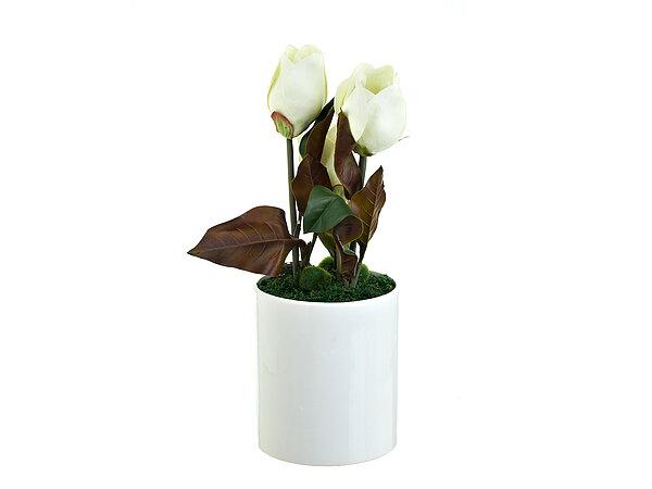 Искусственные растения ENS GROUP Искуственный цветок Белые Цветы (18х49 см)
