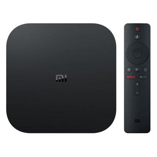 Медиаплеер XIAOMI Mi TV Box S EU, черный