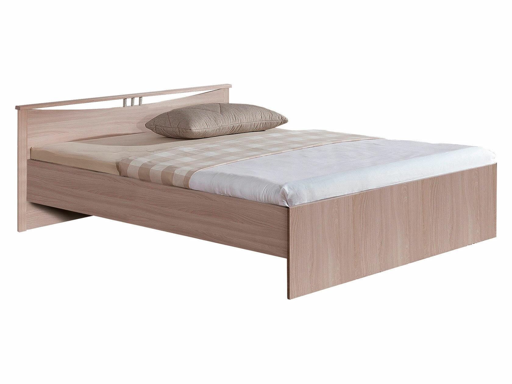 Двуспальная кровать Боровичи Кровать Мелисса Светлое дерево ,1400 Х 2000 мм